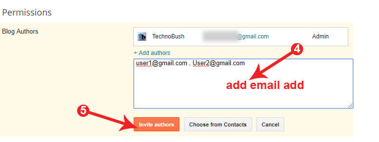 add author in blogger